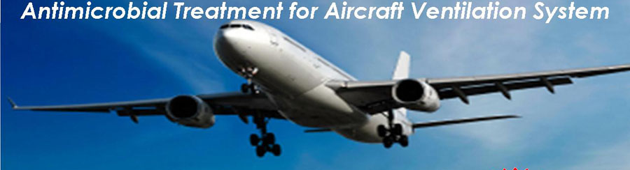 Antimicrobial Treatment for Aircraft Ventilation System