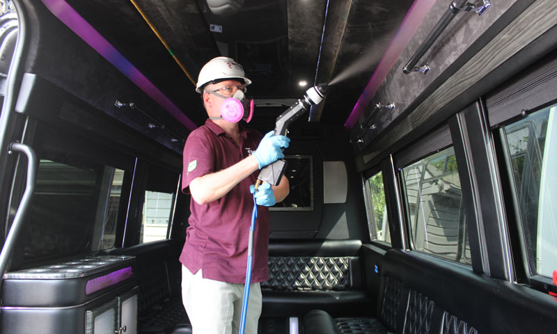 COVID-19 Vehicle Disinfecting Service