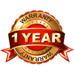 1 year warranty by Bactronix of Southeastern Pennsylvania