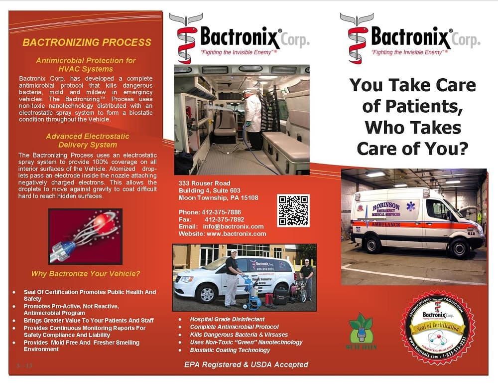 Bactronix of Southeastern Pennsylvania's Infographic
